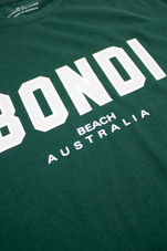Mens Collegiate Tee (Hunter Green)