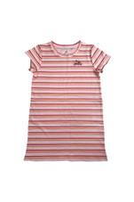 Girls Tee Dress (Peach Blush)