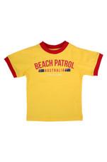 Kids Beach Patrol Tee (Yellow)