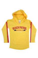 Kids Beach Patrol Lightweight Hoodie (Yellow)