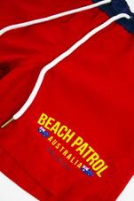 Kids Beach Patrol Boardies (Red)