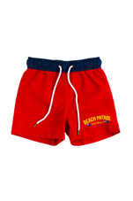 Kids Beach Patrol Boardies (Red)