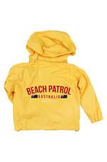 Kids Beach Patrol Spray Jacket (Yellow)