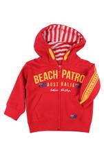 Kids Beach Patrol Hoodie (Red)