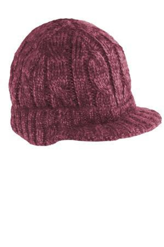 Cabled Brimmed Hat