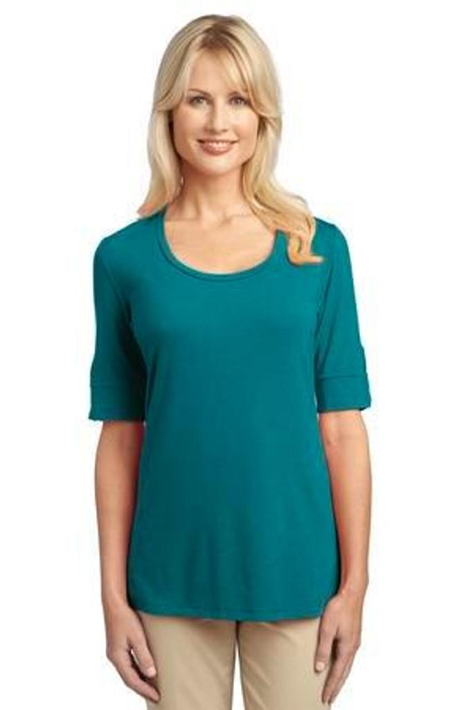 Ladies Concept Scoop Neck Shirt