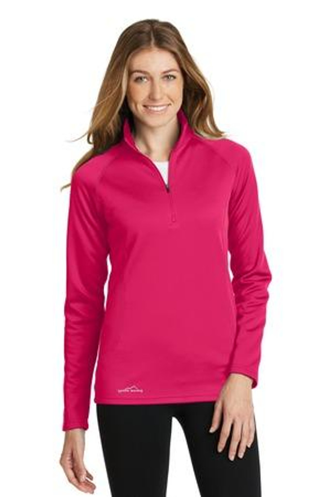 Ladies 1/2-Zip Base Layer Fleece