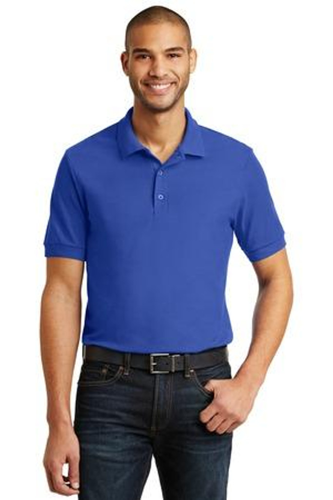 66-Ounce 100% Double Pique Cotton Sport Shirt