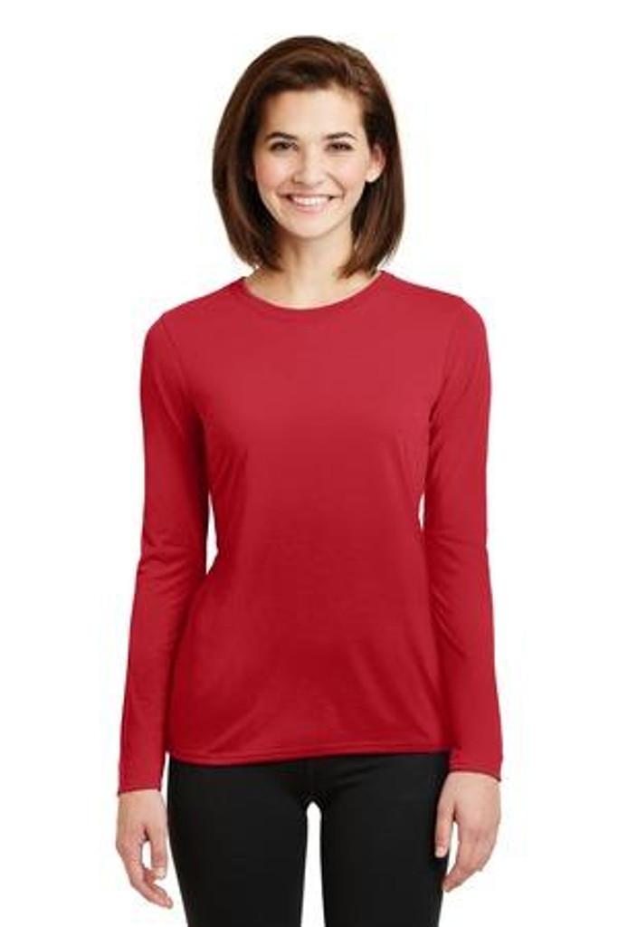 Ladies  Performance Long Sleeve T-Shirt