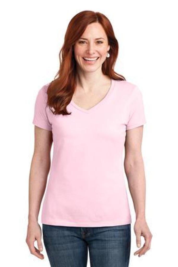Ladies Nano-T Cotton V-Neck T-Shirt