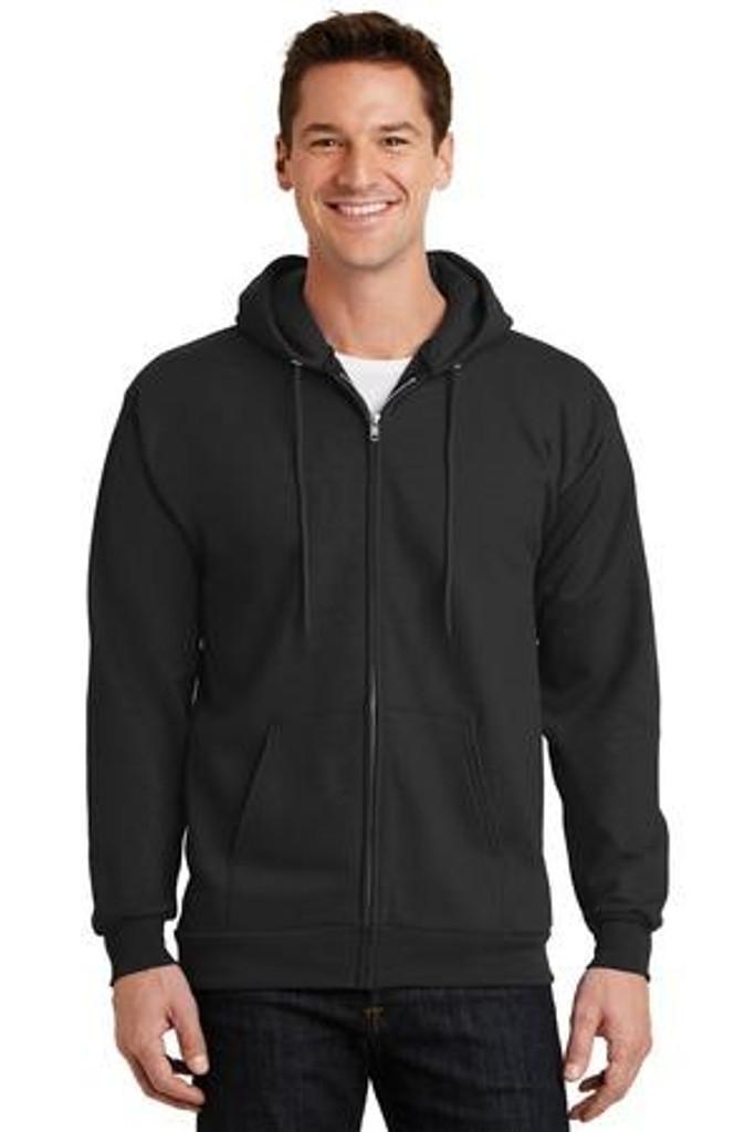 Essential Fleece Full-Zip Hooded Sweatshirt