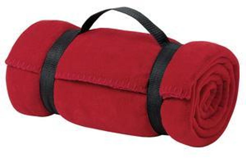 Value Fleece Blanket with Strap