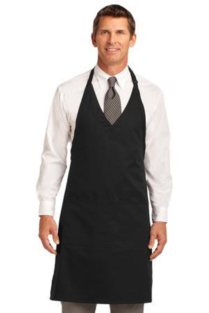 Easy Care Tuxedo Apron with Stain Release