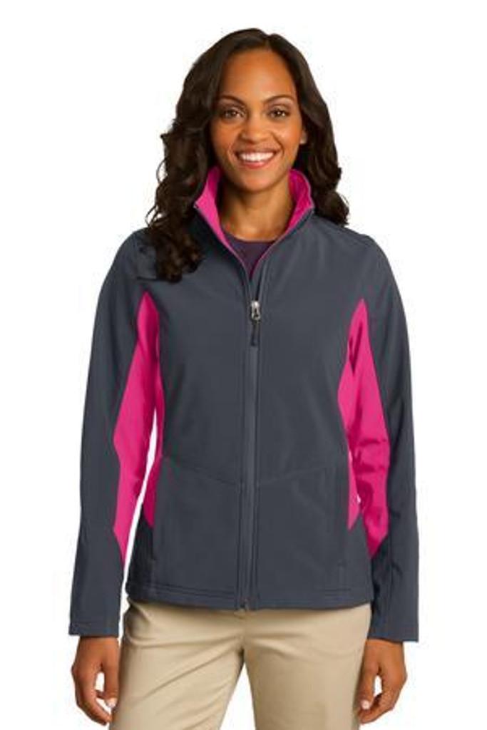 Ladies Core Colorblock Soft Shell Jacket