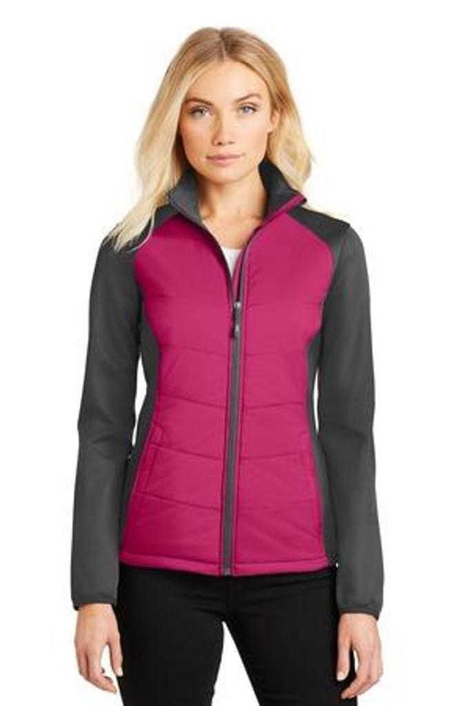 Ladies Hybrid Soft Shell Jacket