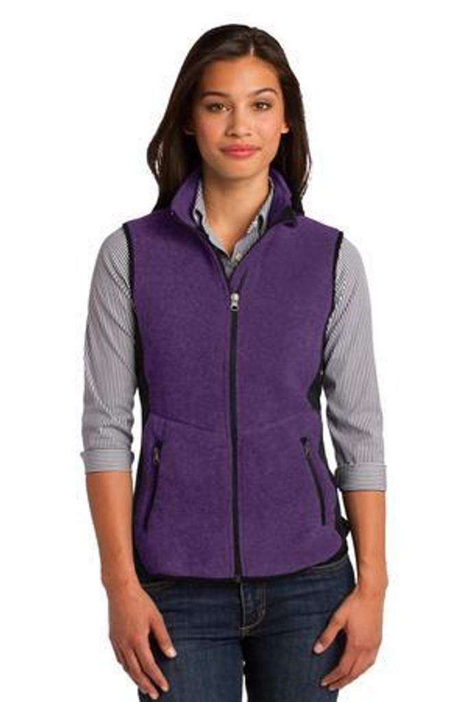 Ladies R-Tek Pro Fleece Full-Zip Vest