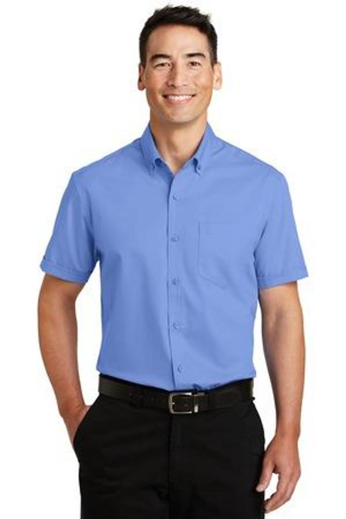 Heavy Short Sleeve SuperPro Twill Shirt