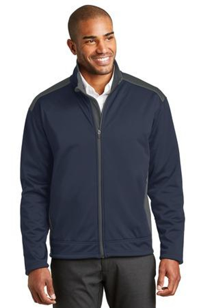 Two-Tone Soft Shell Jacket