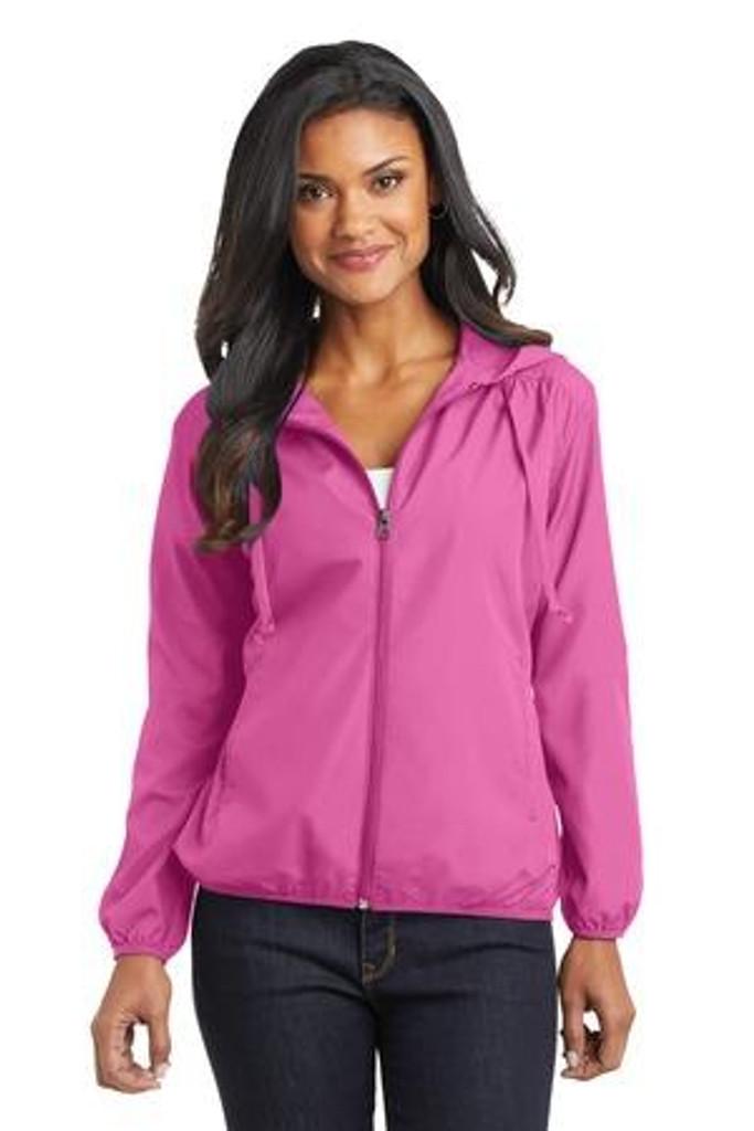 Ladies Hooded Essential Jacket