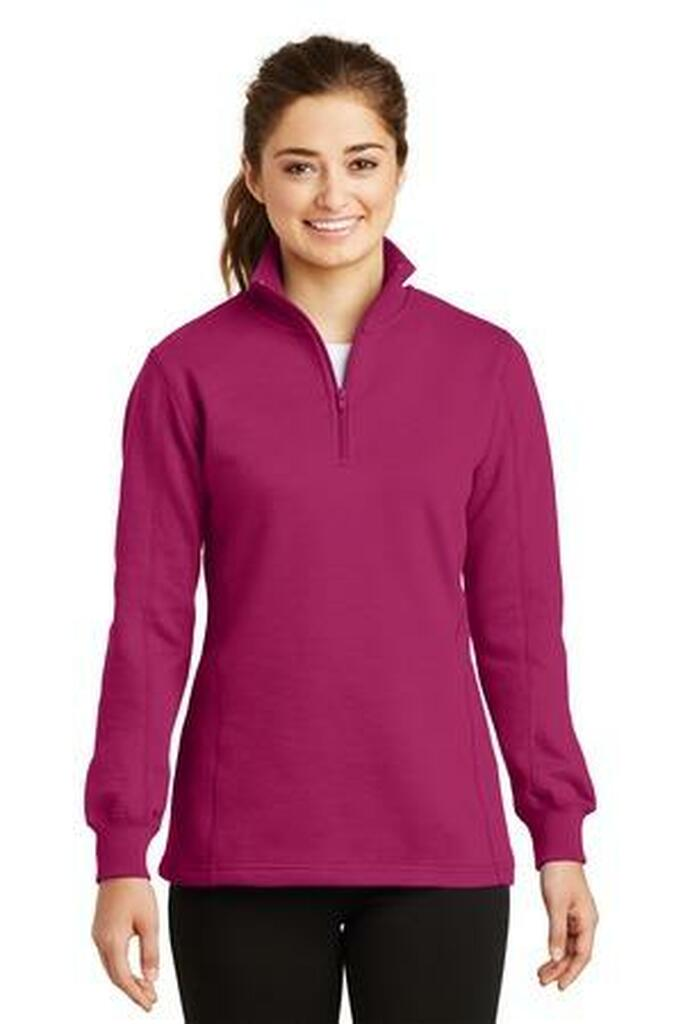 Ladies 1/4-Zip Sweatshirt