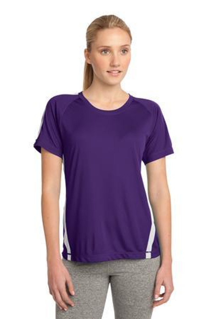 Ladies Colorblock  Competitor Tee