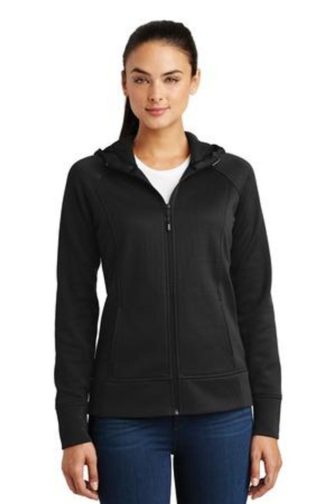 Ladies Rival Tech Fleece Full-Zip Hooded Jacket