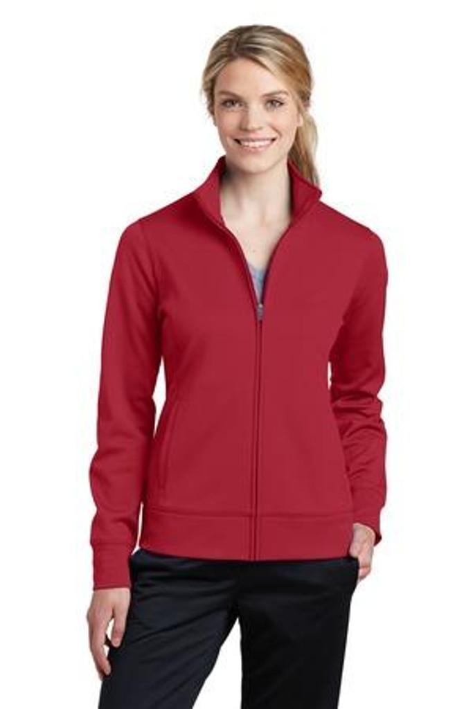 Ladies Sport-Wick Fleece Full-Zip Jacket