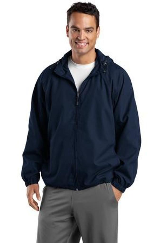 Tall Hooded Raglan Jacket