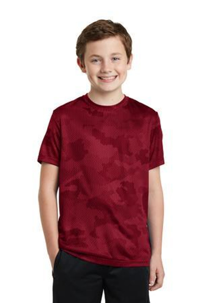 Youth CamoHex Tee