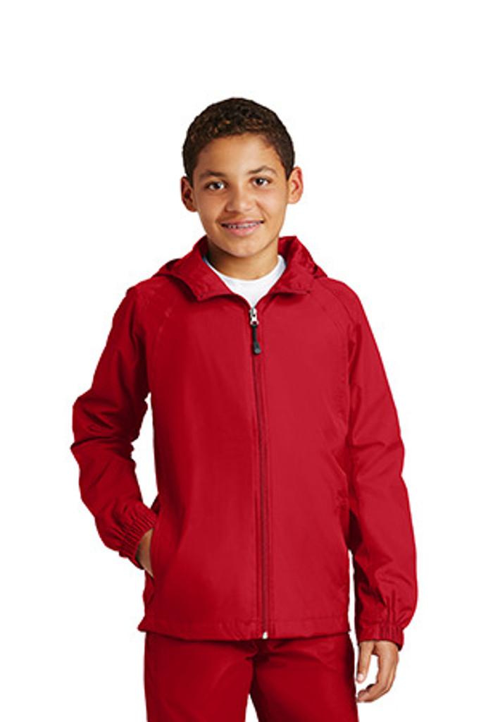 Youth Hooded Raglan Jacket