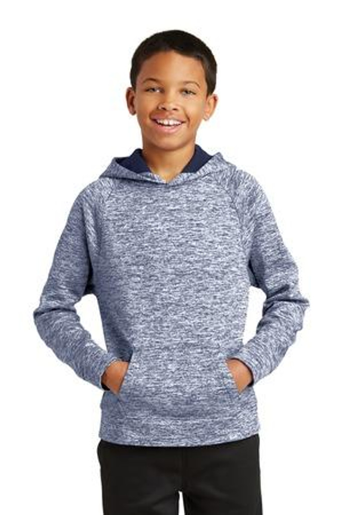 Youth  Electric Heather Fleece Hooded Pullover