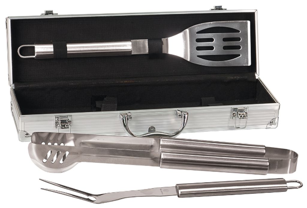 Aluminum/PVC BBQ Gift Set with Stainless Steel Tools