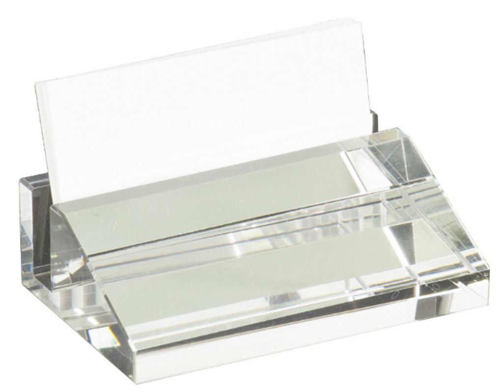 Crystal Business Card Holder