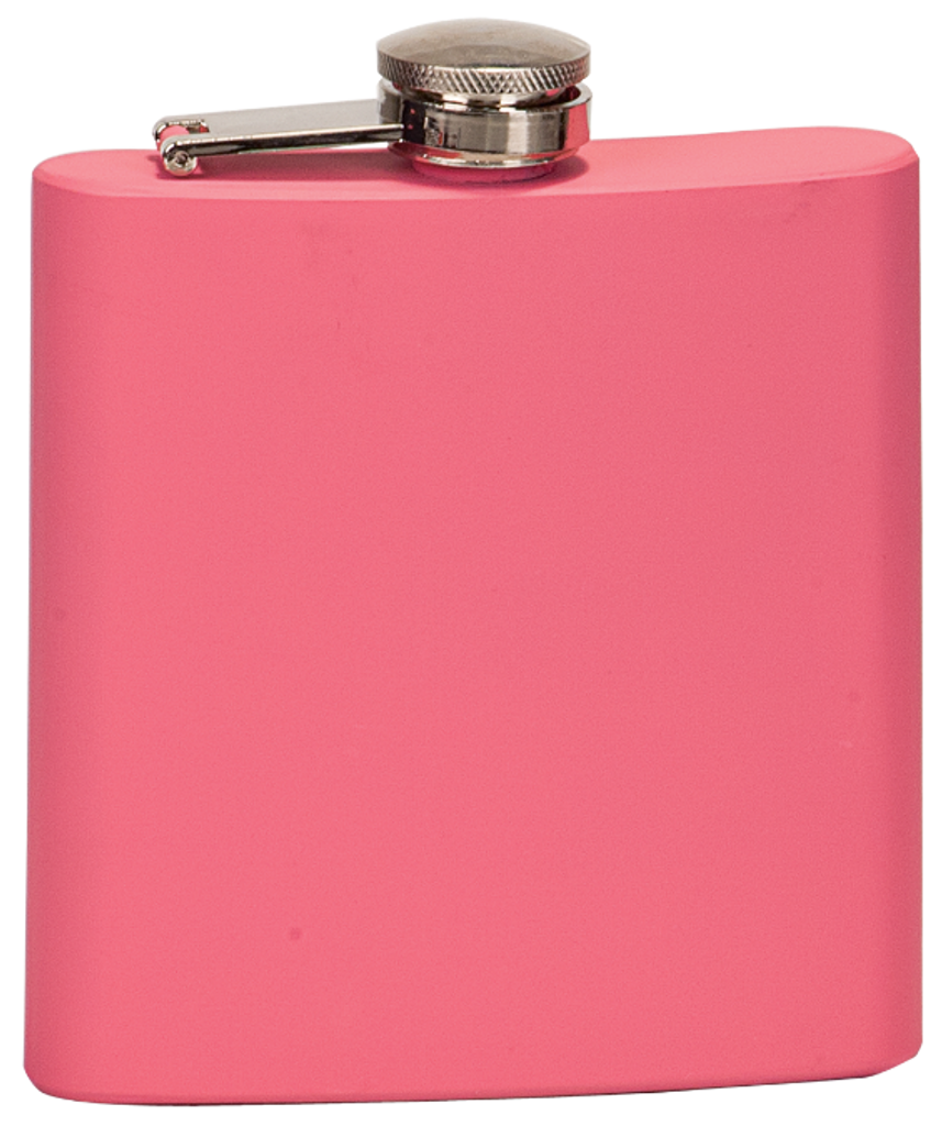 Matte Pink Stainless Steel Flask