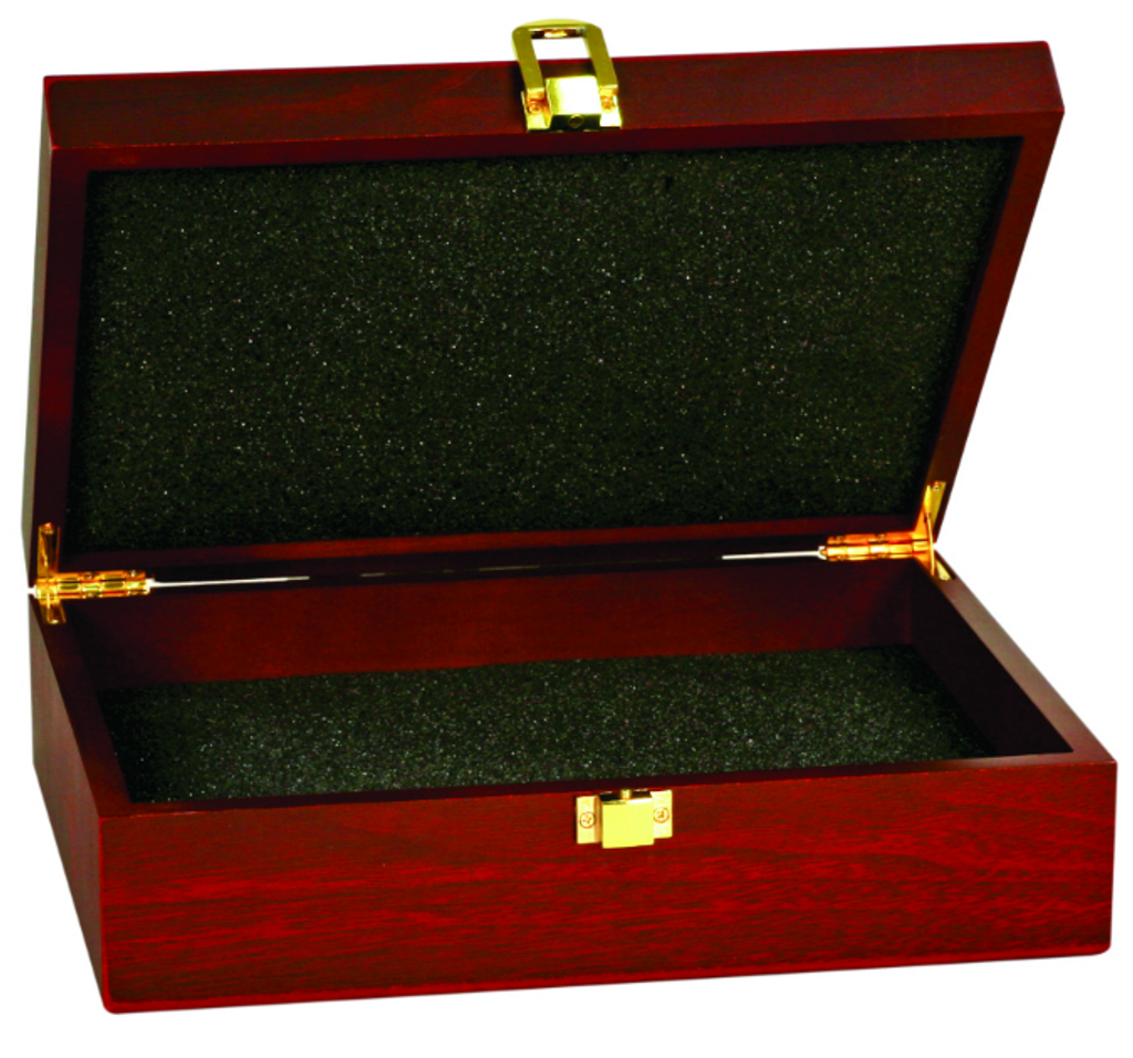 Rosewood Finish Gift Box