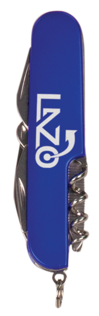 Blue Finish 8-Function Multi-Tool Pocket Knife