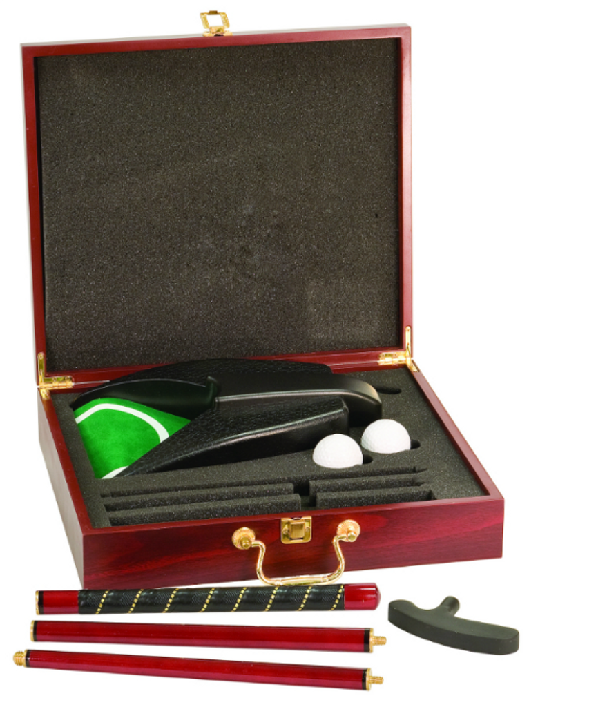 Rosewood Finish Executive Gold Gift Set