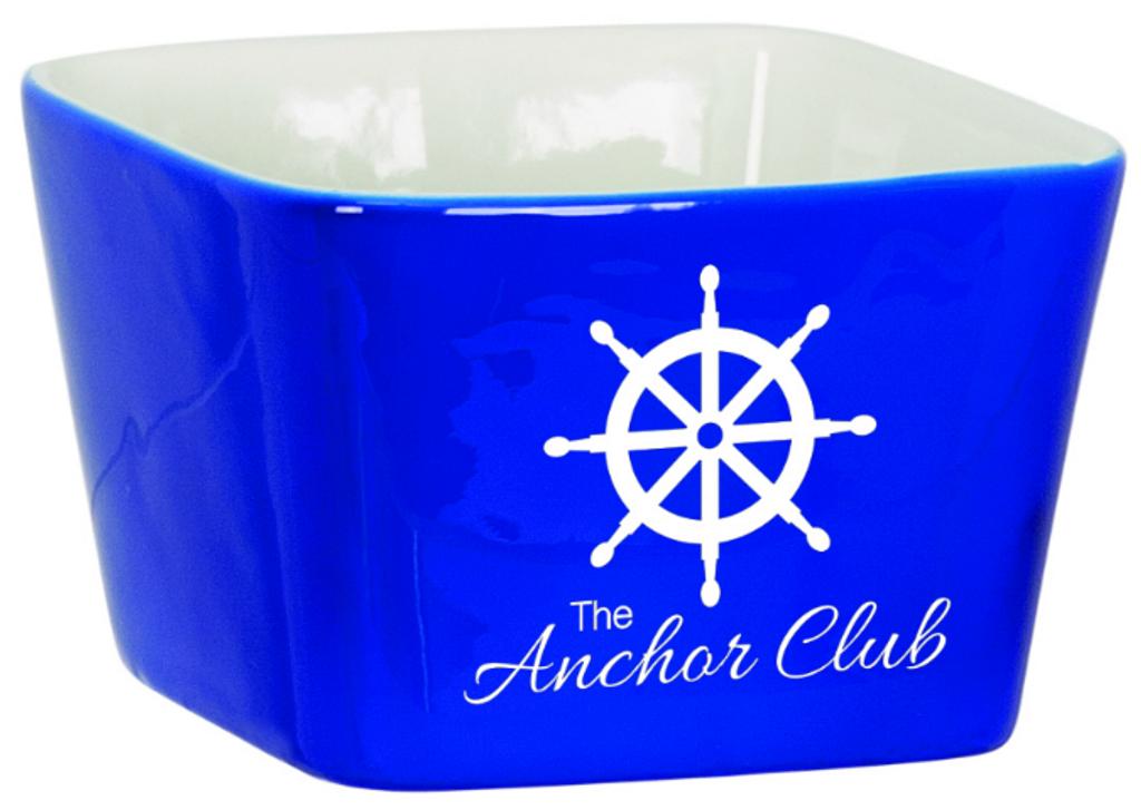 Small Blue Ceramic Bowl