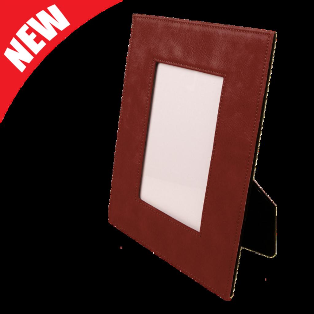 Rose Leatherette Frame