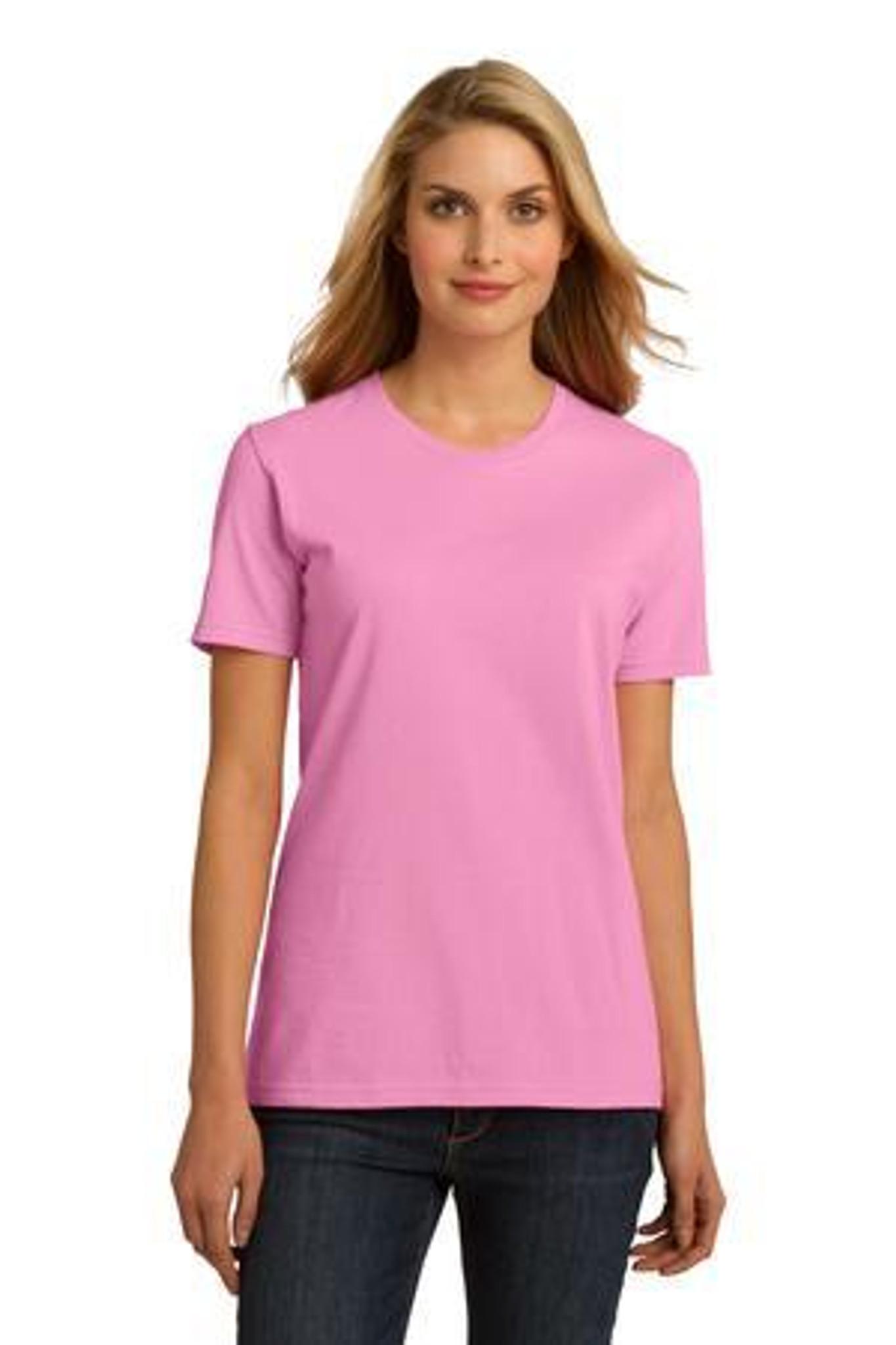 Port /& Company Essential Ring Spun Cotton T-Shirt Lime
