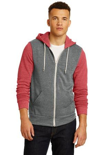 Colorblock Rocky Eco-Fleece Zip Hoodie