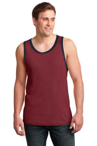 100% Combed Ring Spun Cotton Tank Top