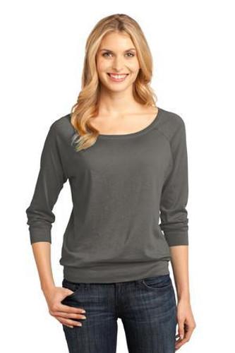 Ladies Modal Blend 3/4-Sleeve Raglan