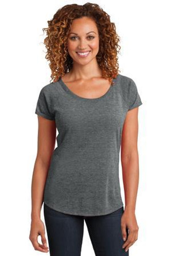 Ladies Tri-Blend Scoop Tee