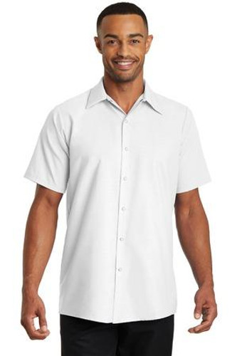 Short Sleeve Pocketless Gripper Shirt