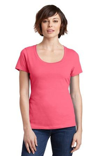 Ladies Perfect Weight Scoop Tee