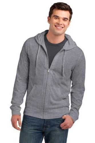 Young Mens Jersey Full-Zip Hoodie