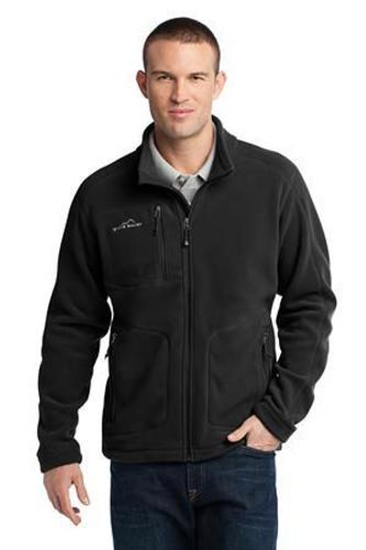 Wind-Resistant Full-Zip Fleece Jacket