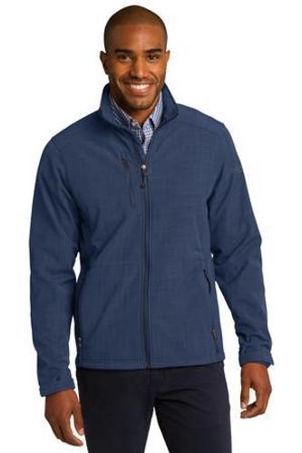 Shaded Crosshatch Soft Shell Jacket