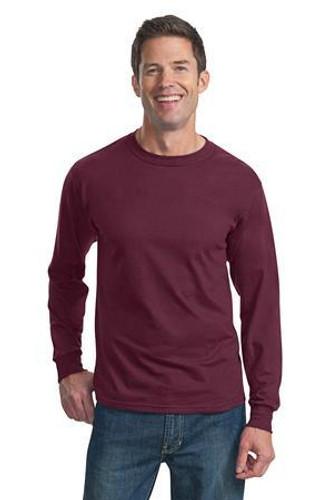 HD Cotton 100% Cotton Long Sleeve T-Shirt